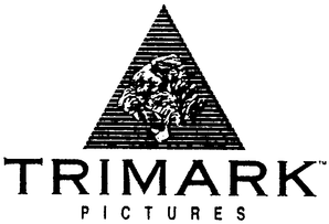 Trimark Pictures Logo from 1985 eventually sold to Lions Gate.